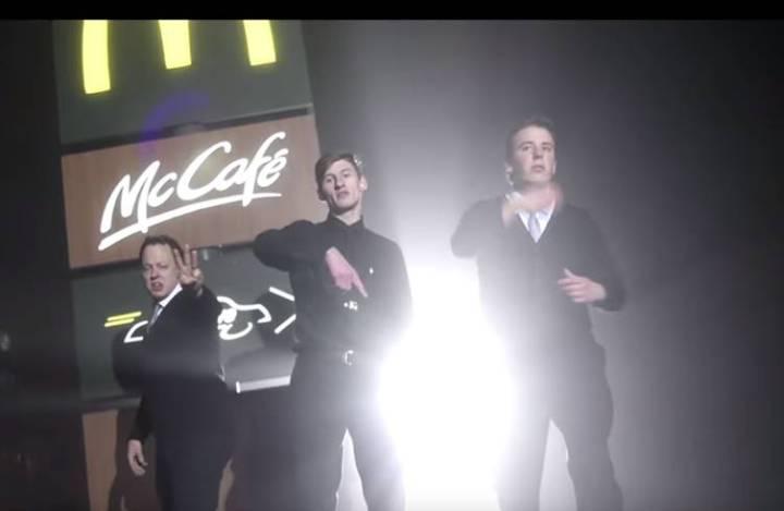 mcdonalds rap video